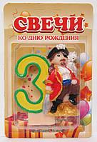 """Свеча для торта """"Пират"""" 3., фото 1"""