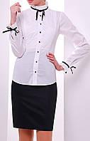 """ПП Украина Модная женская   блуза  с длинным рукавом """"Лаурика"""", блуза до 48  размера"""