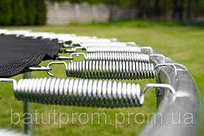 Спортивный батут 427 см с сеткой и лесенкой, фото 2