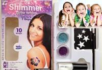 Блеск татуировки Shimmer Glitter Tattoos (Шиммер Глиттер Тату)