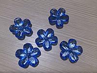 Голубые цветы 23 мм