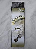 Цепь - KMC X9 Taiwan 1/2 2 11/128 звеньев 116