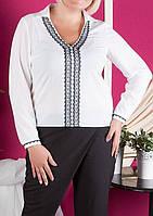 """ПП Украина Модная блуза большого размера """"Катюша"""" до 60 размера"""