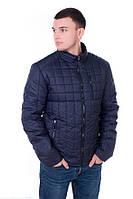 Мужская демисезонная куртка .Код-М-53.-синий