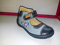 Туфли  для девочки  кожа Bottini (Польша) 2 цвета