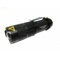 Тактический фонарик Police 3000w с линзой BL-8468