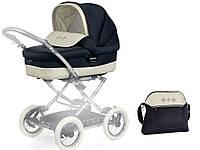 Люлька для коляски «Peg-Perego» Culla Auto RO51-PL66 с сумкой, цвет синий (INCB770071RO51PL66)