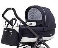 Люлька для коляски «Peg-Perego» Culla с сумкой, цвет Luxe Blue (синий с белым) (IN01770035BA41PL00
