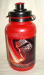 """Бутылка детская """"Star Wars (Звёздные войны)"""", Испания, цвет красный"""