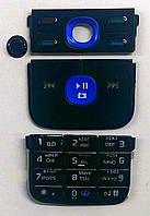 Клавиатура для телефона Nokia 5700, все 3 части + джойстик, русская, чёрная