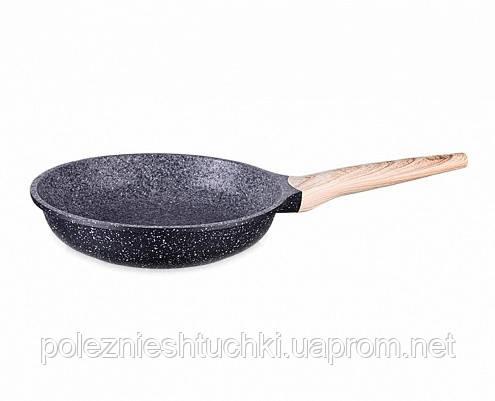Сковорода для жарки 20x5,0 см. SPOTTY STONE (алюминивая с антипригарным покрытием)