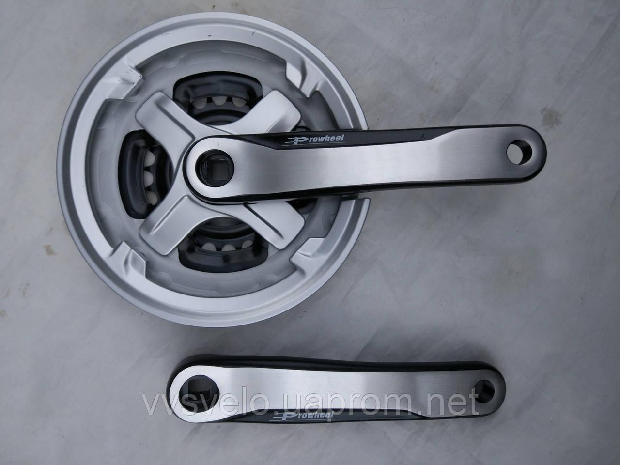 Комплект шатунов prowheel 42/34/24 170 mm серый 2017