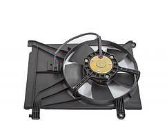 Электро Вентилятор Радиатора Daewoo Lanos Ланос (дополнтельный с кондиционером) ЛУЗАР