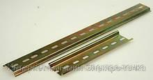 DIN-рейка 1м. G-образная, перфорированая, толщина 1,5мм  Enext