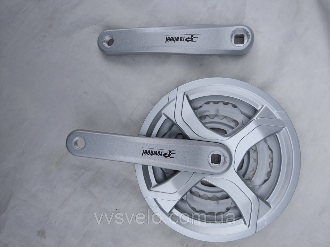 Комплект шатунов prowheel 48/38/28 170 mm серый 2017