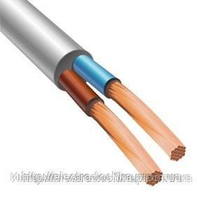 Провод ПВС 2х2,5 производитель Запорожский завод цветных металлов (ГОСТ)