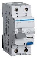 Дифференциальный автоматический выключатель Hager 1+N  25A 30mA С 4,5кА  АС