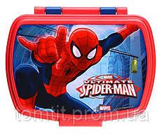 """Контейнер для завтрака (ланчбокс) «Spider-Man (Человек-паук)», ТМ """"Stor"""" (Испания)"""
