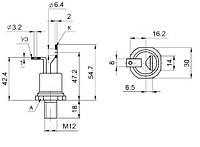 Тиристор ТЧ25 6-9 кл