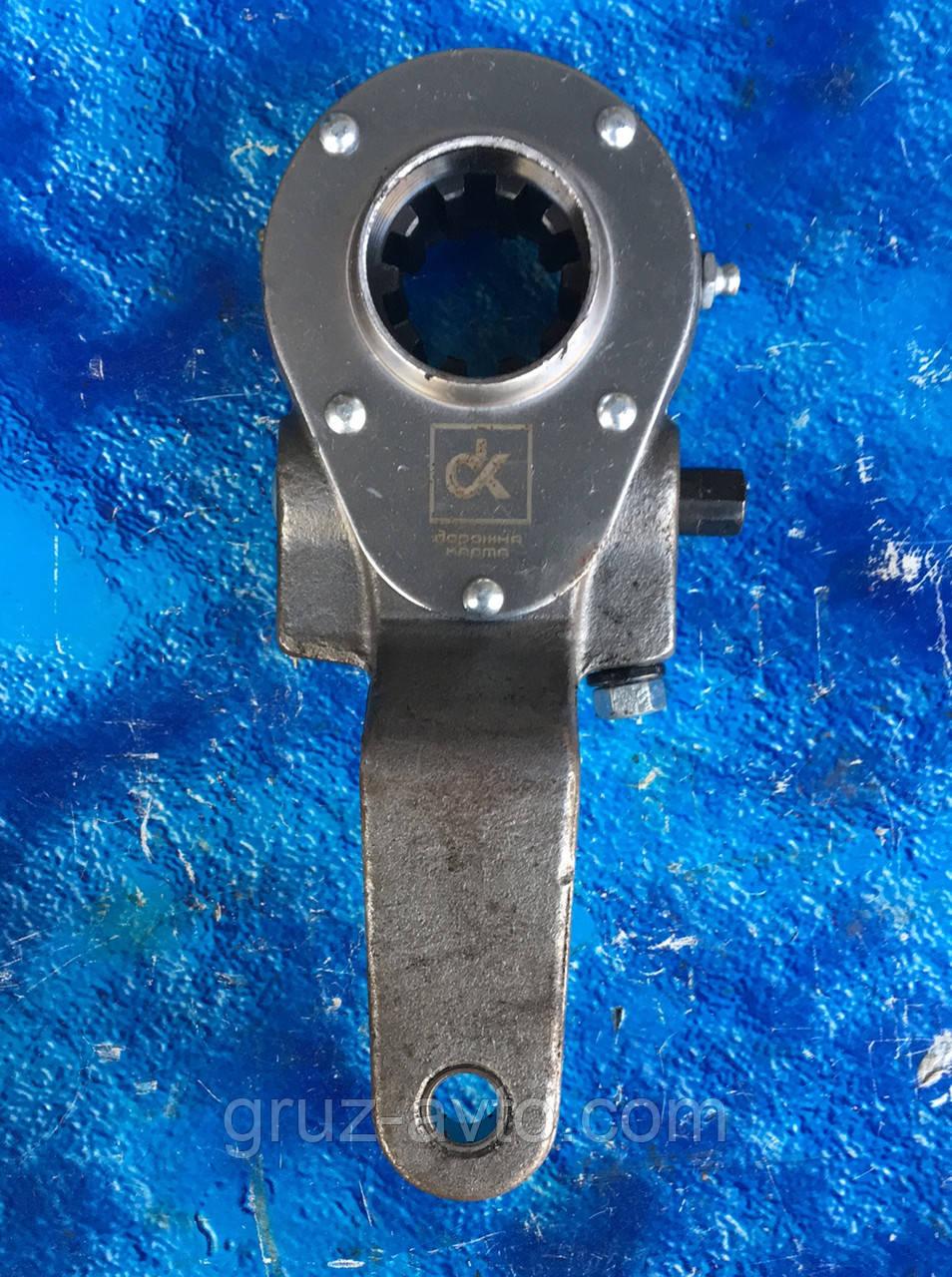 Рычаг регулировочный задний левый 10т (трещетка) КАМАЗ / 5511-3502137