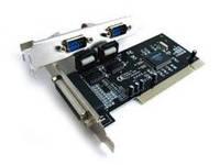 Контролер PCI Combo Parallel+Serial-PCI (LPT+Com) 2s+1p (WCH 352 chipset)