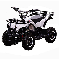 Квадроцикл детский  Profi HB-EATV 800N-1, белый, скорость 1-30 км\ч