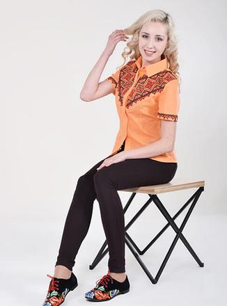 """Блуза  вышиванка """"  Виннычанка  """", фото 2"""