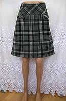 Новая офисная юбка JANINA полиэстер шерсть М 48-50 С85N