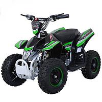 Детский квадроцикл Profi HB-EATV 800K-5 на аккумуляторе, черно-зеленый