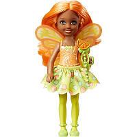 """Кукла Barbie Челси из серии """"Дримтопия"""" / Barbie Dreamtopia Small Fairy Doll Citrus Theme"""