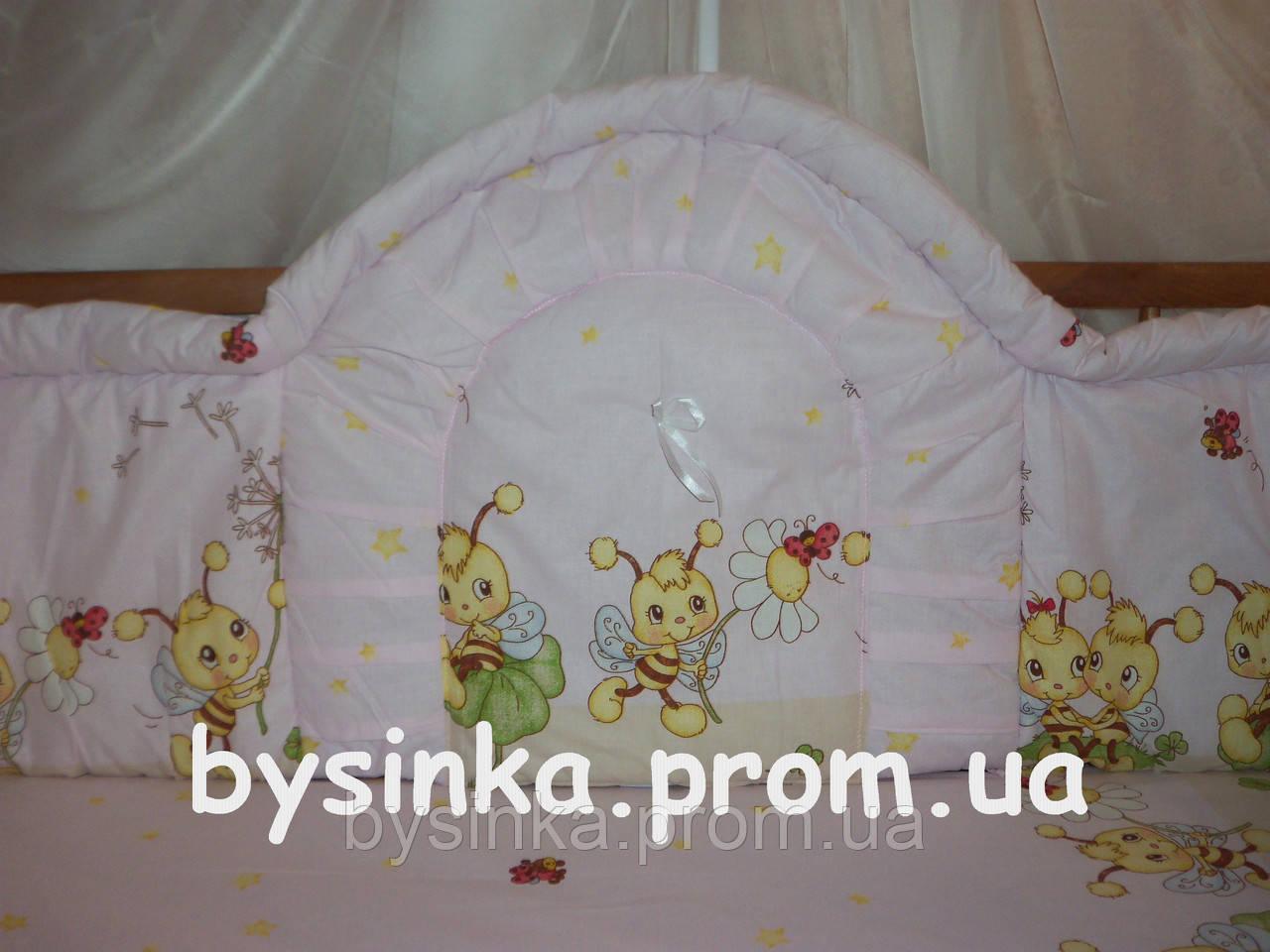 Детское постельное белье в кроватку, цельная защита