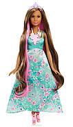 Barbie Лялька Принцеса з чарівними волоссям / Barbie Dreamtopia Color Stylin' Princess, фото 2