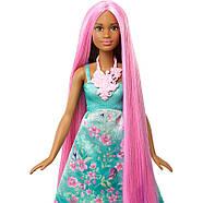 Barbie Лялька Принцеса з чарівними волоссям / Barbie Dreamtopia Color Stylin' Princess, фото 3