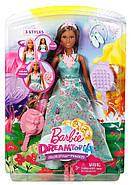 Barbie Лялька Принцеса з чарівними волоссям / Barbie Dreamtopia Color Stylin' Princess, фото 6