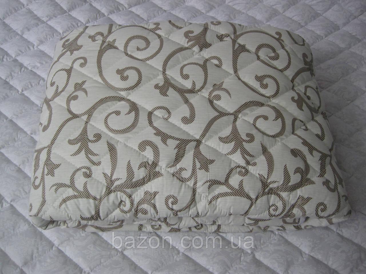 Одеяло полуторное 150х210 см хлопок силикон TM KRISPOL