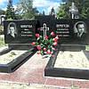 Памятник гранитный на две могилы