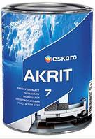 Краска Akrit 7 ESKARO 9л – Моющаяся краска для стен и потолка (Акрит 7) TR(транспарентная) .B-3