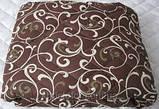 Одеяло полуторное 150х210 см хлопок силикон TM KRISPOL, фото 4