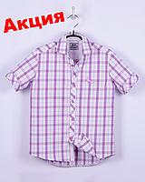 Рубашка casual, короткий рукав