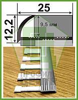 "Гибкий профиль для плитки 9 мм НАП 10 Г. Анод ""Золото"", L-2.7m"