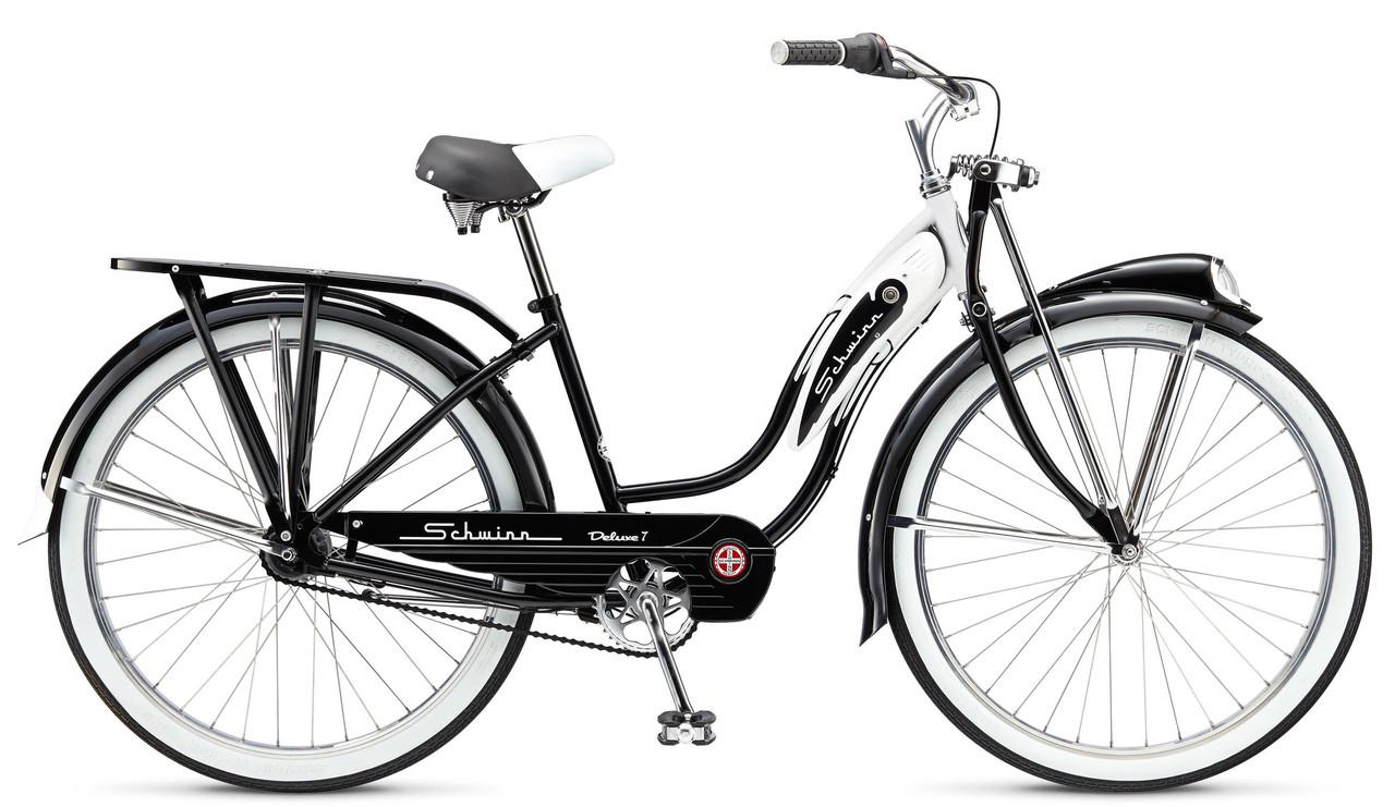 "Велосипед 26"" Schwinn Classic Deluxe 7 thru step frame 2015 black"