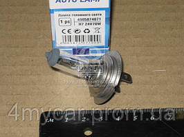Лампа головного света H7 24V 70W  (производство Tempest ), код запчасти: H7 24V70W