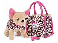"""Собачка Чихуахуа Chi Chi Love Leo Fashion """"Леопардовый стиль"""" Simba 5892281."""