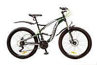 """Велосипед 26"""" Formula X-ROVER AM2 14G DD рама-19"""" St черно-зеленый с крылом Pl 2017"""