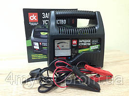 Зарядное устройство, 6Amp 12V, аналоговый индикатор зарядки,  (производство Дорожная карта ), код запчасти: DK23-1206CS