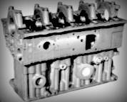 Блок цилиндров Д 245.7, 9,  МАЗ