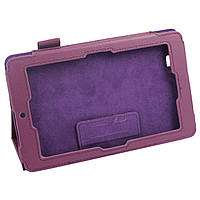 Фиолетовый чехол для ASUS Memo Pad ME172V из синтетической кожи, фото 1