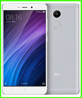 Смартфон Xiaomi redmi 4 - 2/16 GB, 5/13 MP, проц. 8 ядер, 1.4 Ггц. (SILVER). Гарантия в Украине!