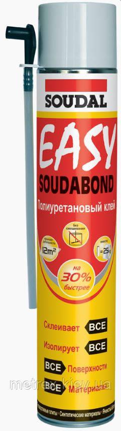 Клей-Пена монтажная Soudal SOUDABOND EASY 750 мл ручная