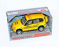 Машина такси 9079 С звук, свет, на батарейке